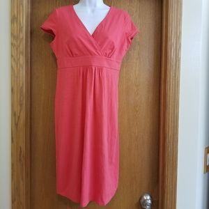 Boden Pink Summer Midi Dress 8
